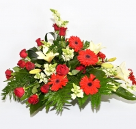 Centro sencillo de Flores Variadas