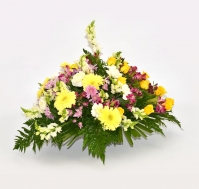 Centro Completo de Flores Variadas