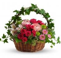 Cesta de flores Cuento de Hadas