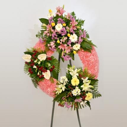 Corona fúnebre Con cariño