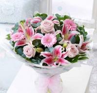 Bouquet de flores Nacimiento Niña