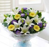 Bouquet de flores Nacimiento Niño