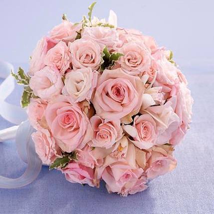 Ramo de Novia Sueños Rosas
