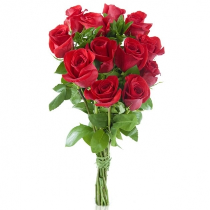 Ramo 12 rosas rojas - Como secar un ramo de rosas ...