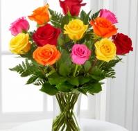 Ramo de Rosas Variadas