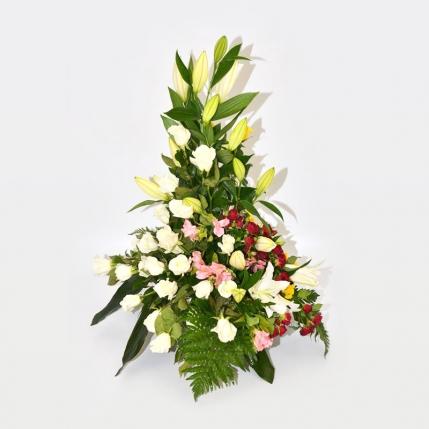 Tarrina de flores